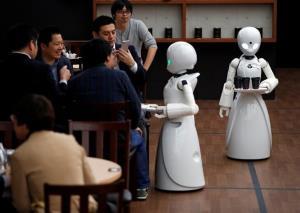 کافه ربات آواتار در توکیو