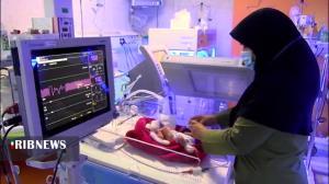 تولد ۴ قلوهای کرمانی در نخسین زایمان مادر ۲۹