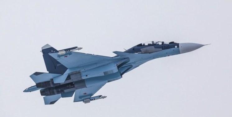 رهگیری جت جاسوسی پیشرفته آمریکا توسط «سوخو-30» روسیه