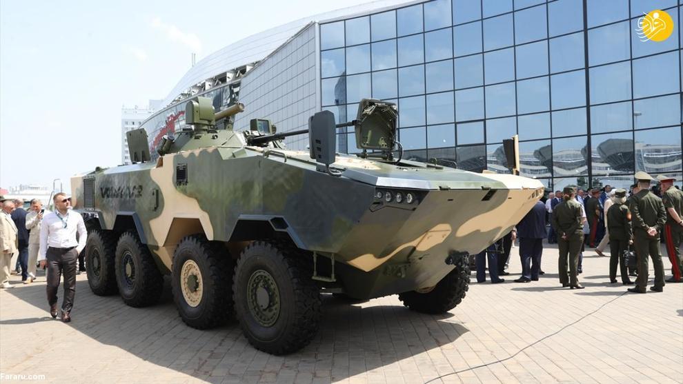 نمایشگاه بینالمللی اسلحه و تجهیزات نظامی در بلاروس