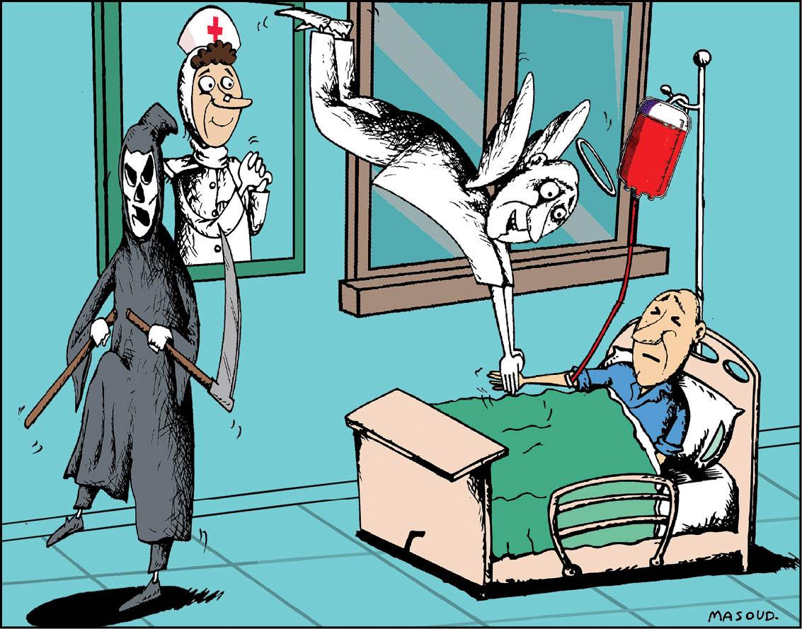 کارتون/ اهدای خون اهدای زندگی