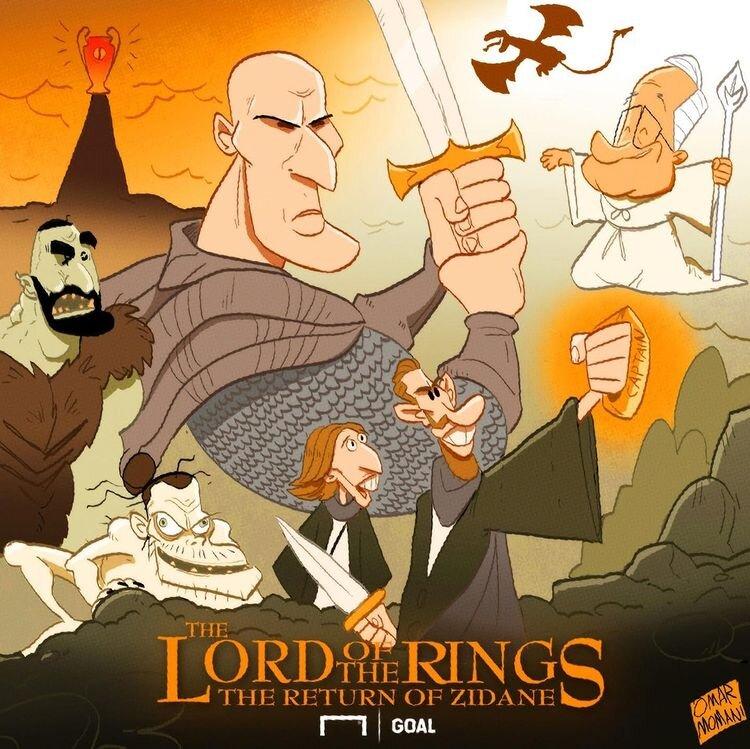 کاریکاتور/ سلطان لالیگا رو ببینید!