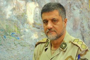 توجه ویژه فرمانده ناجا به سرباز مجروح مرزبانی در سنندج