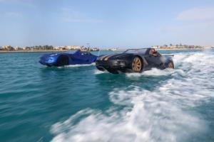 اختراع خودروی دوزیست در مصر