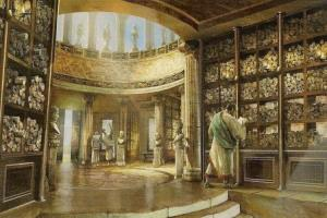 آتش سوزی کتابخانهای که منجر به از دست رفتن دانش در یونان و رُم باستان شد