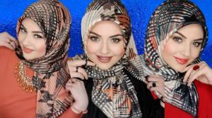 مدل های جدید بستن شال و روسری در ترکیه