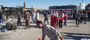 واژگونی اتوبوس در دهشیر استان یزد پنج کشته