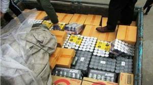 کشف محموله کمپوت قاچاق در شاهینشهر