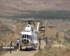 رونمایی از ۲ فروند بالگرد جدید اورژانس فارس