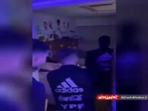 سورپرایز تولد مسی در اردوی تیم ملی آرژانتین در مسابقات کوپا