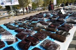 کشف حدود ۵۵۹ کیلوگرم انواع مواد مخدر در خراسان شمالی