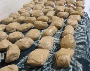کشف ۵۲۹ کیلو مواد مخدر از سوداگران مرگ در نیریز