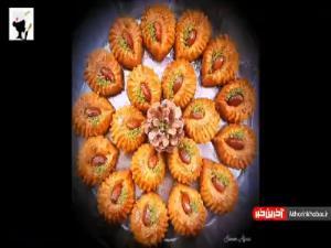 شیرینی شربتی نارگیلی ترکی