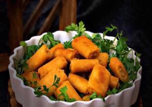 طرز تهیه پاستای مرغ سوخاری