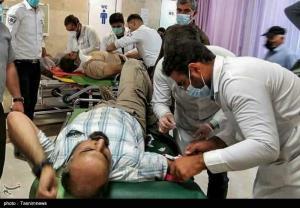 روایت خبرنگار مجروح تسنیم از چگونگی سقوط اتوبوس خبرنگاران به دره