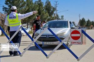 ۸۰۰ هزار خودرو در گیلان برای محدودیتهای کرونایی اعمال قانون شدند