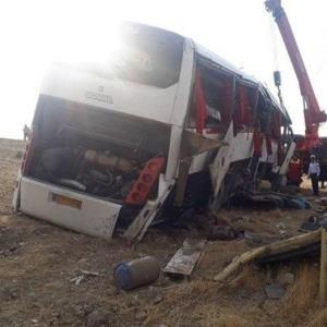 اعلام نتیجه قطعی بررسی علت حادثه اتوبوس خبرنگاران تا یکشنبه