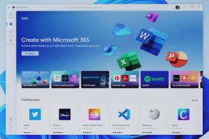 مایکروسافت استور جدید ویندوز ۱۱ معرفی شد