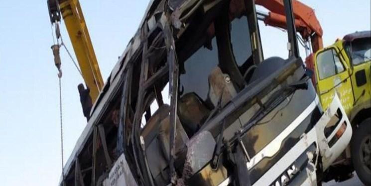کشته شدن ۵ سرباز درپی واژگونی اتوبوس زاهدان-آباده