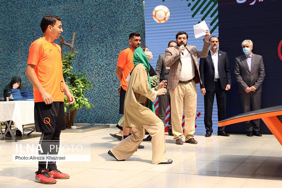 افتتاحیه رشته ورزشی تکبال در ایران