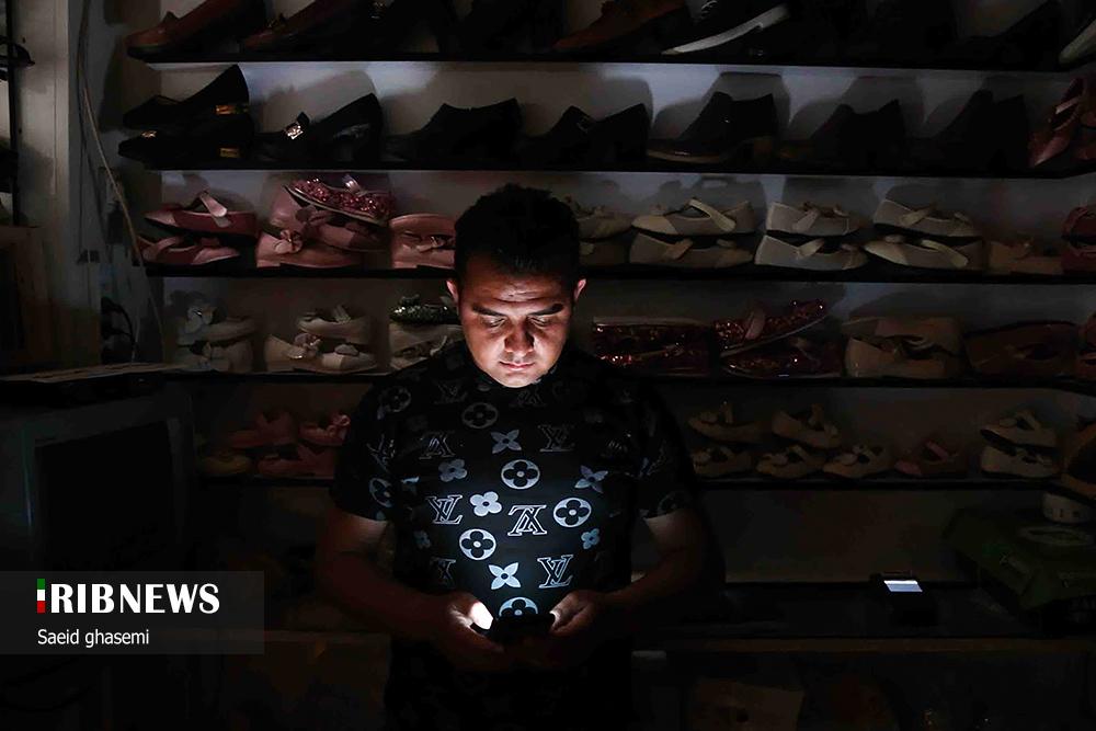 عکس/ خاموشیهای بازار اهر