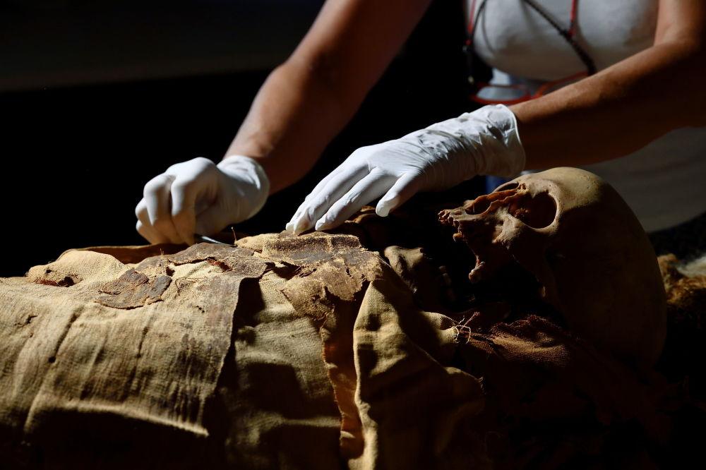 تصاویری از مومیایی مصری در ایتالیا