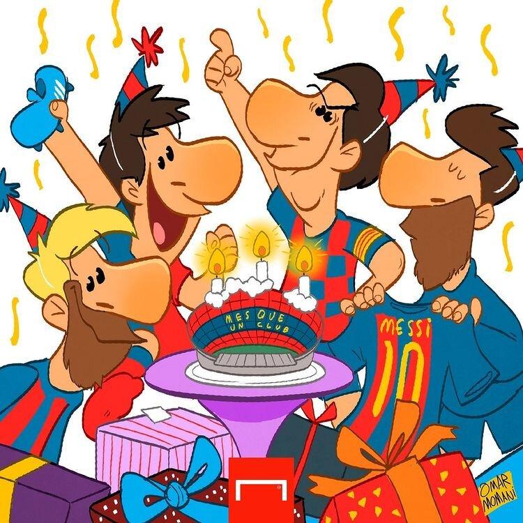 کاریکاتور/ آقای لیونل مسی تولدت مبارک!