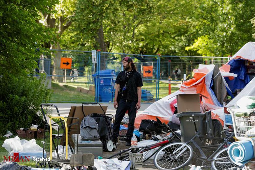 وضعیت بی خانمانان در کانادا
