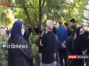 مراسم تشییع خبرنگاران جانباخته ایرنا و ایسنا