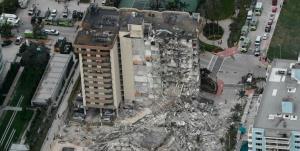 20 صهیونیست در حادثه ریزش ساختمان در آمریکا مفقود شدند