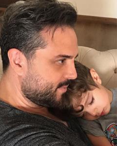 چهرهها/ عاشقانه پدرام کریمی برای پسرش