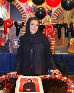اولین جشن تولد مهوش وقاری بدون محسن قاضی مرادی