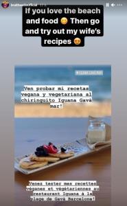 سرمایهگذاری مهاجم بارسلونا و همسرش روی یک رستوران ساحلی