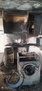 آتشسوزی یک ساختمان مسکونی در خیابان دستغیب شیراز