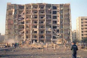 تقویم تاریخ/ انفجار عظیم مقرّ نظامی امریکا در منطقه ظهران عربستان