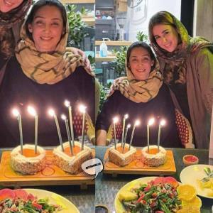 چهرهها/ تصویری از جشن تولد ۴۹ سالگی هدیه تهرانی