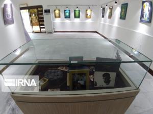 نمایشگاه جشنوارههای هنرهای تجسمی رضوی در بوشهر