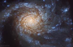 زیبایی کهکشان مسیه 99