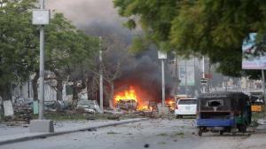 افزایش شمار کشتههای انفجار انتحاری در سومالی