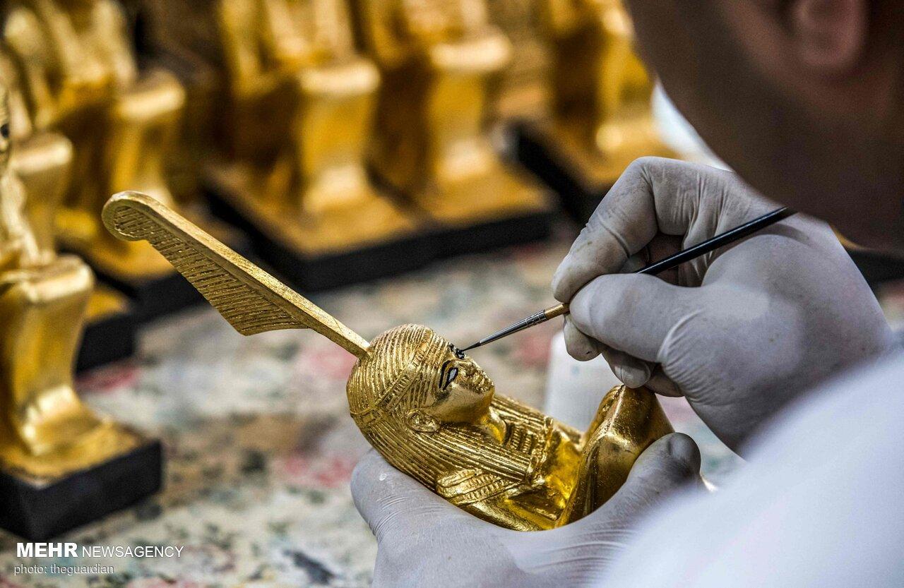 ساخت مجسمه فراعنه در مصر برای رقابت با چین
