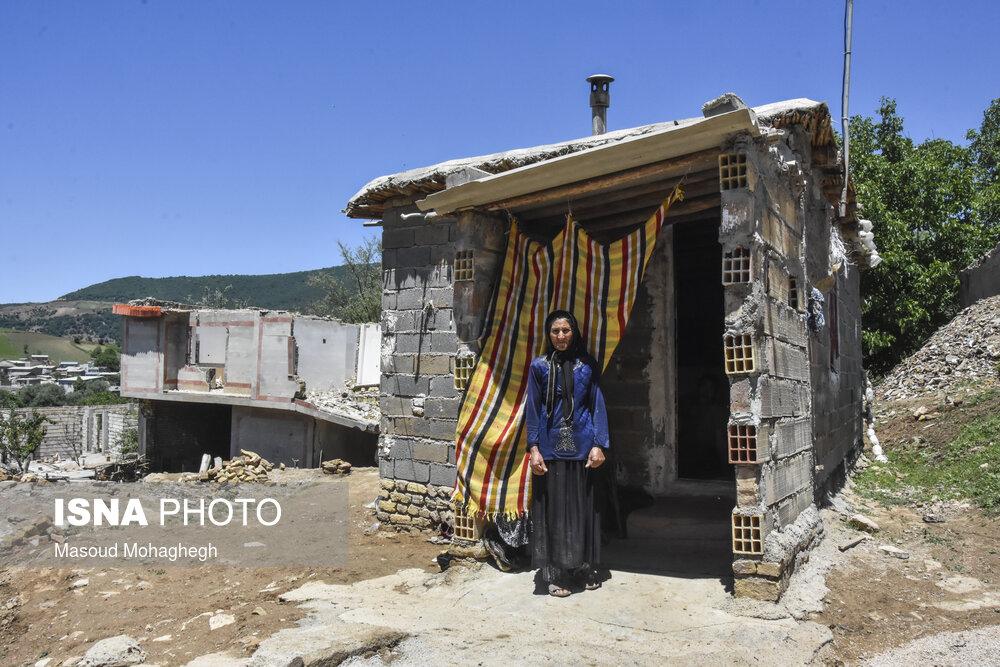 عکس/ «حسین آباد کالپوش» دو سال پس از رانش زمین