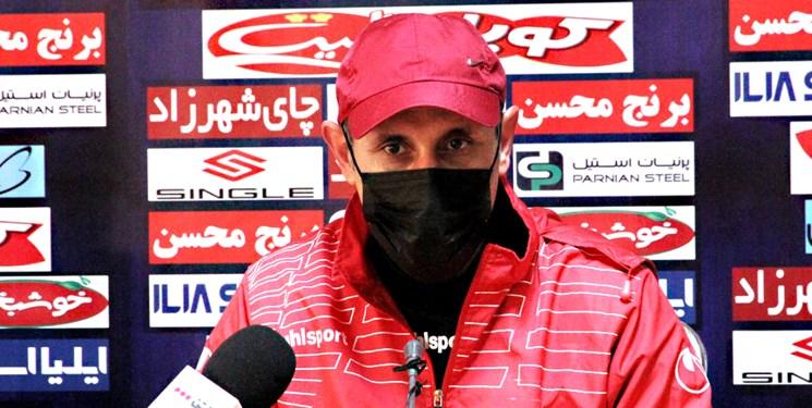 گلمحمدی در نشست خبری قبل از دیدار با فولاد شرکت نمیکند