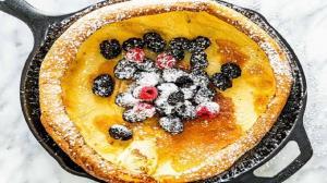 عصرانه/ دستور پخت «پنکیک آلمانی» یک پیشنهاد دلچسب