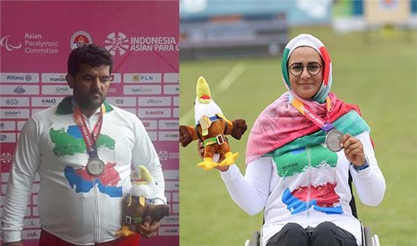پرچمداران کاروان ایران در بازیهای پارالمپیک توکیو انتخاب شدند