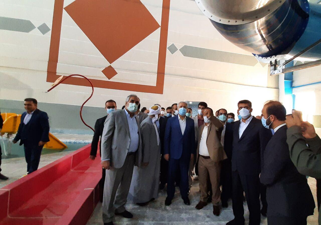 بزرگترین پارک آبی غرب کشور در دیواندره افتتاح شد