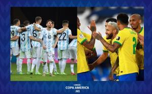 آرژانتین - برزیل؛ جنگ ستارگان