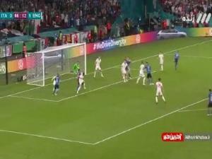 گل اول ایتالیا به انگلیس