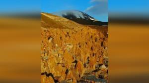 کندوان، یکی از سه روستای صخرهای مخروطی شکل جهان