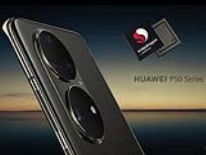 هواوی در تولید گوشیهای سری P50 به تراشه اسنپدراگون متوسل شد!