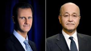 گفتوگوی تلفنی رؤسای جمهور سوریه و عراق